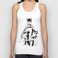 batgirl Tank Tops featuring Batgirl by MKilness