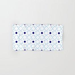 Antic pattern 9- from LBK blue Hand & Bath Towel