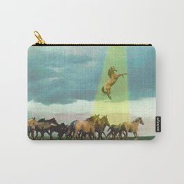 They too love horses Carry-All Pouch