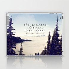 the greatest adventure- mountains Laptop & iPad Skin
