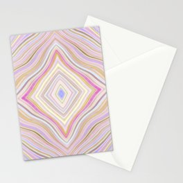 Mild Wavy Lines VI Stationery Cards