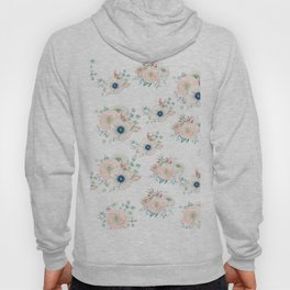 Dog Rose Pattern 2 Hoody