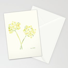 Dill Stems Stationery Cards