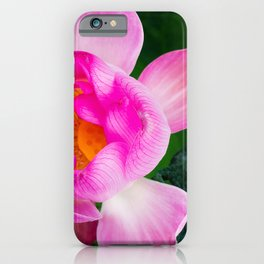 Wabi-Sabi Lotus iPhone Case