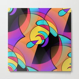 2D - abstraction -1b- Metal Print