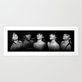 Fifth Harmony 'Reflection' Digital Painting Art Print
