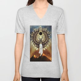 The Great Mother - Isis Unisex V-Neck