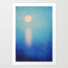 Full Moon Rising Art Print