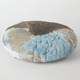 Carbonation Collection: ski Floor Pillow
