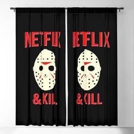 Netflix & Kill - Jason Vorhees Friday The 13th Blackout Curtain