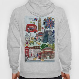 Queen's London Day Out Hoody