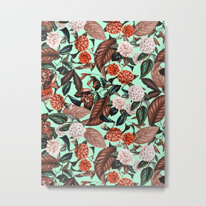 Summer Botanical Garden VII Metal Print