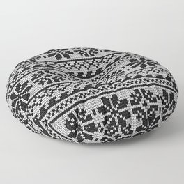 Pattern in Grandma Style #22 Floor Pillow