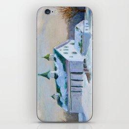 Snowy barn (2) iPhone Skin