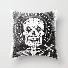 Mors Throw Pillow
