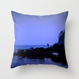The Right Coast Throw Pillow