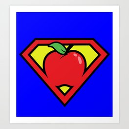Super Teacher Art Print