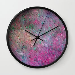 Vortex Footprints Wall Clock
