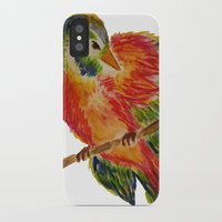 birdy iPhone & iPod Cases featuring Birdy by LaurenMarie94