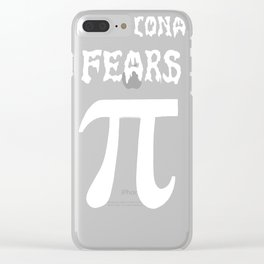 Irrational Fears Clear iPhone Case