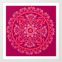 Pink Madala Art Print