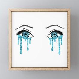 OCN Eyes Framed Mini Art Print