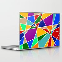 cracked Laptop & iPad Skins featuring Cracked by MarkStantonDesign