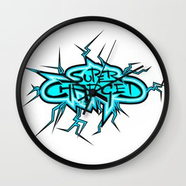 Super Charged Wall Clock