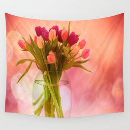 A Bloom for Spring Wall Tapestry