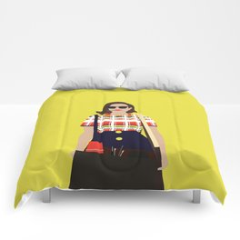 Peggy Olson Mad Men Comforters