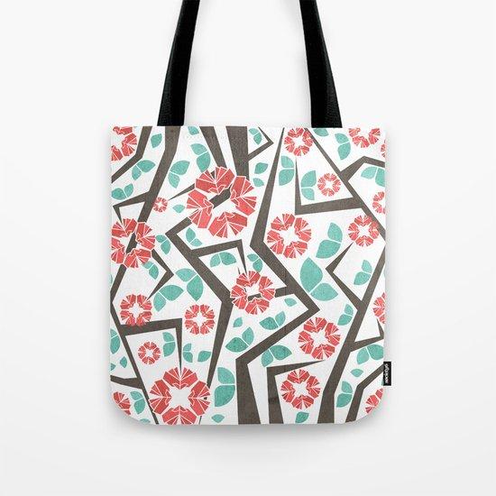 Blooming Trees Pattern IV Tote Bag
