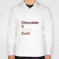 oitnb Hoodies featuring Chocolate & Vanilla Swirl OITNB by Maria Giorgi