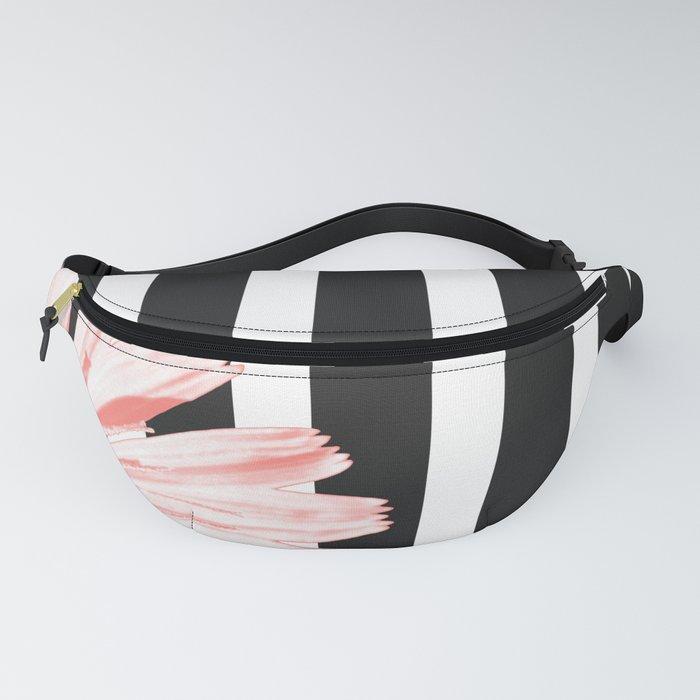 Cichoriums on stripes Fanny Pack