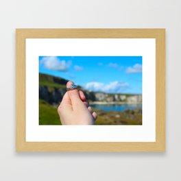 Claddagh Ring in Ireland Framed Art Print