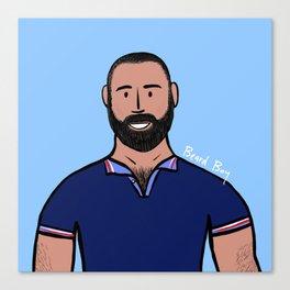 Beard Boy: David Ruiz Canvas Print