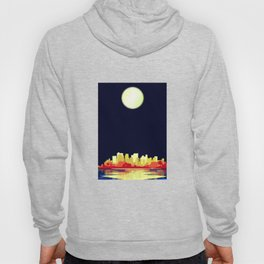 City Under A Pale Moon Hoody