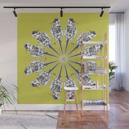 Matti the cocatiel circle of life Wall Mural