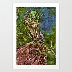 Roseate Spoonbill Art Art Print