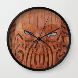 Tiki Tiki Wall Clock