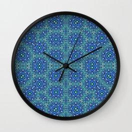Oriental Pattern 6 Wall Clock