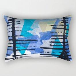 Fir Trees Rectangular Pillow