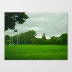 Rugbyfield Canvas Print