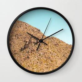 Landscape Joshua Tree 7341 Wall Clock