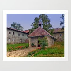 The village church of Eidenberg I | architectural photography Art Print