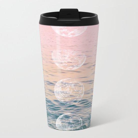 Moontime on the Beach Metal Travel Mug