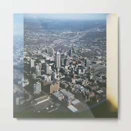 Indianapolis Skyline Metal Print