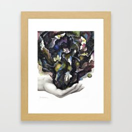 Take My Hand Framed Art Print