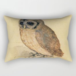 Albrecht Durer The Little Owl Rectangular Pillow