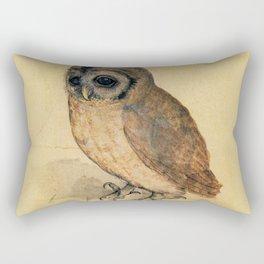 Albrecht Durer The Little Owl Rectangular Pillow