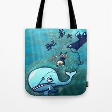 Whales are Furious! Tote Bag